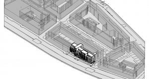 bouwvoorbereidingstekeningen_woonbedrijfsgebouw - 3D View - 3D Massa