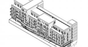 bouwvoorbereidingstekeningen_woonbedrijfsgebouw - 3D View - 3D_Voorzijde