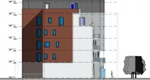 bouwvoorbereidingstekeningen_woonbedrijfsgebouw - Elevation - Oost