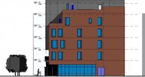 bouwvoorbereidingstekeningen_woonbedrijfsgebouw - Elevation - West