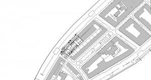 bouwvoorbereidingstekeningen_woonbedrijfsgebouw - Floor Plan - Situatietekening