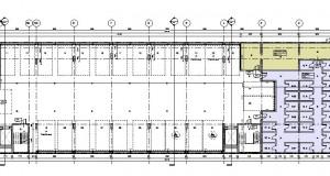 bouwvoorbereidingstekeningen_woonbedrijfsgebouw - Floor Plan - V -1