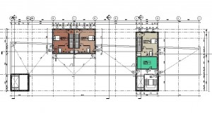 bouwvoorbereidingstekeningen_woonbedrijfsgebouw - Floor Plan - V 5