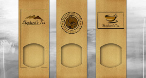 Shepherd's Tea - Frontal Package Design variations
