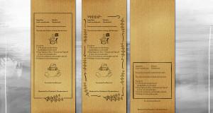Shepherd's Tea - Back Package Design variations